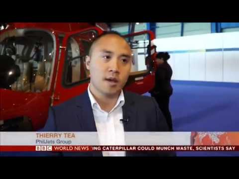 BBC World News 2017 04 25 Thierry Tea CEO of PhilJets Group