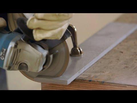 comment tron onner avec un disque diamant sur une meuleuse d 39 angle youtube. Black Bedroom Furniture Sets. Home Design Ideas