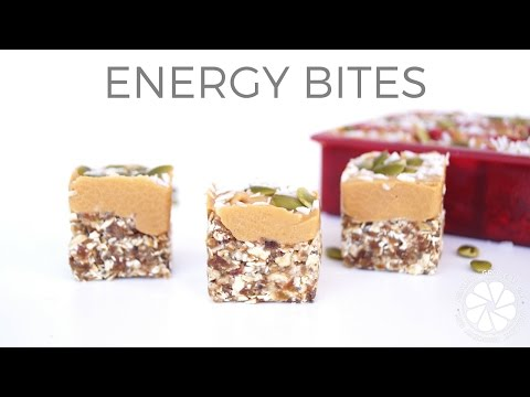 Pumpkin Seed & Oat Energy Bites | Easy Healthy Snack Ideas | Healthy Grocery Girl