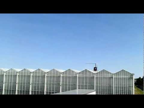 Apex Helicopters Green House Shading