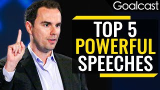 Top 5 Speeches that will make you REFOCUS on WHAT MATTERS| Goalcast