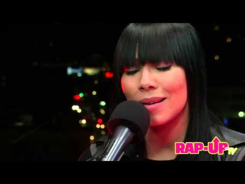 Bridget Kelly Performs 'Special Delivery' for Rap-Up Sessions