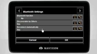 Bluetooth Hands-Free Settings …
