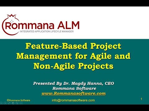 Feature Based Project Management for Agile and Non Agile Projects