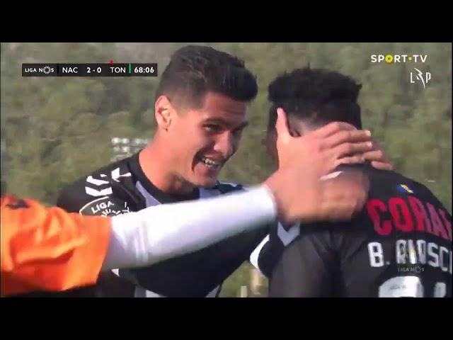 Goal | Golo B. Riascos: CD Nacional (2)-0 Tondela (Liga 20/21 #11)