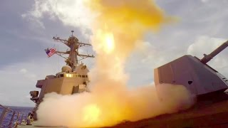 Guided Missile Destroyer USS Lassen (DDG 82) Live-Fire Training