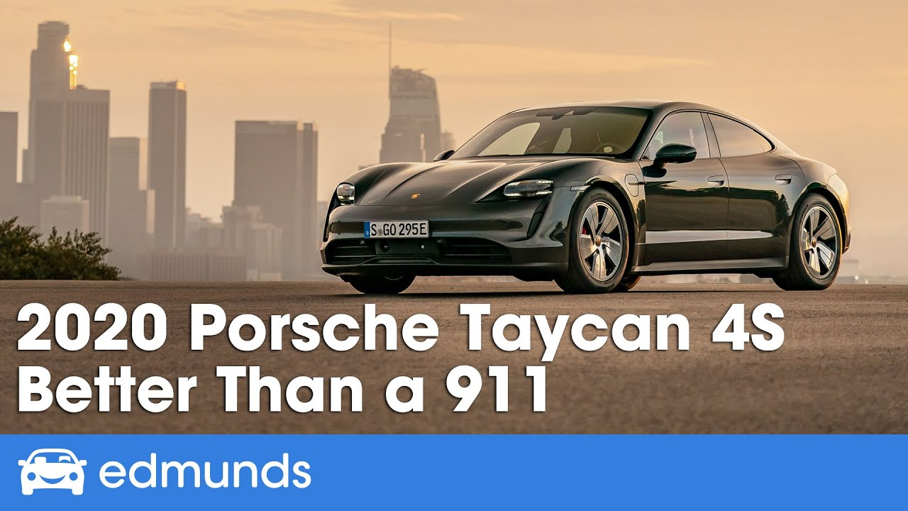 2020 Porsche Taycan 4S Review & Test Drive — Better Than a 911