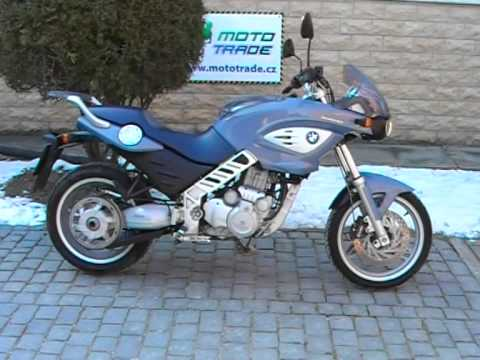 Bmw F 650 Cs Scarver Youtube