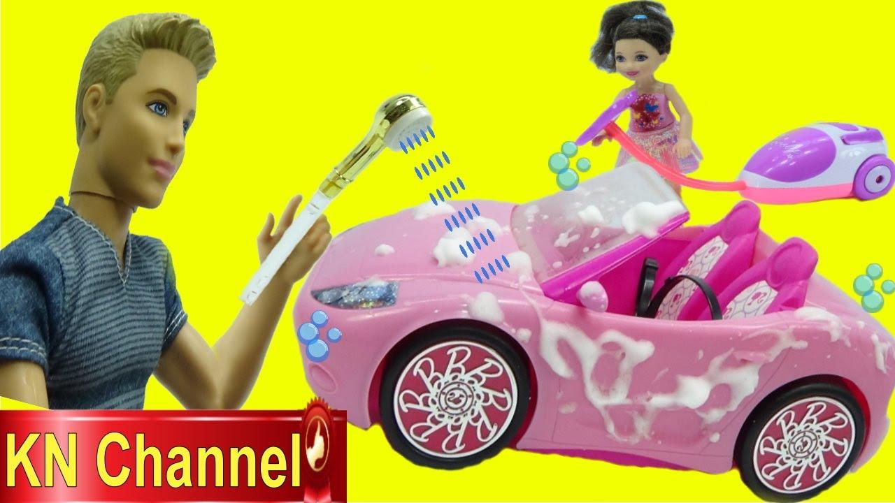 Đồ chơi trẻ em GIA ĐÌNH LUCY tập 39 RỬA XE Ô TÔ ĐỒ CHƠI | BÉ TẬP THỂ DỤC Kids toys review