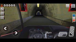 "Modern Bus Parking 3D gameplay ""Night Mode Bus Drive With Passengers"" screenshot 3"