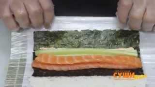 Как приготовить суши.mp4(Машинка для приготовления суши и роллов Заказывайте на сайте http://sushirollmag.apishops.ru/ Машинка для приготовления..., 2014-06-26T17:24:06.000Z)