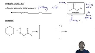 General properties of epoxidation