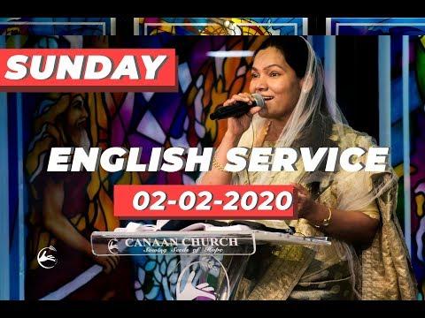 Canaan Church Sunday English Service | 02-02-2020