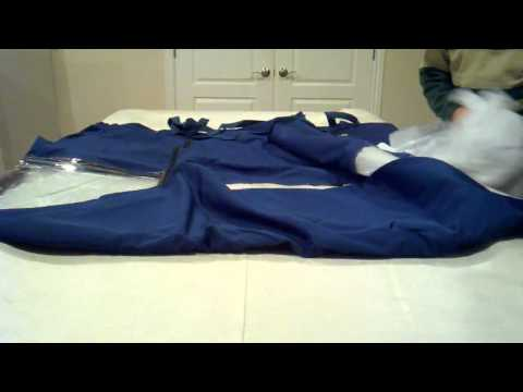 Clear Vision Golf Cart Cover - How to fold and repack like factory new!