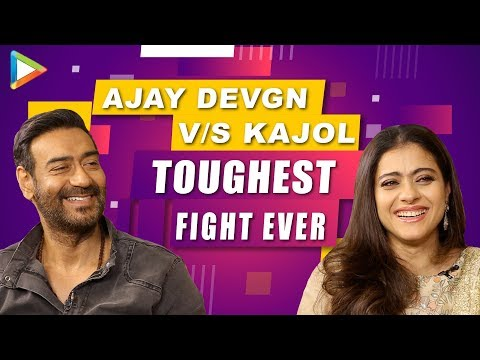 HILARIOUS FIGHT: Ajay Devgn v/s Kajol – How well do they know each other? | Tanhaji