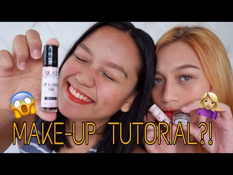 MAKE-UP TUTORIAL + TRYING OUT SLUSH COSMETICS | Hanna Riotet