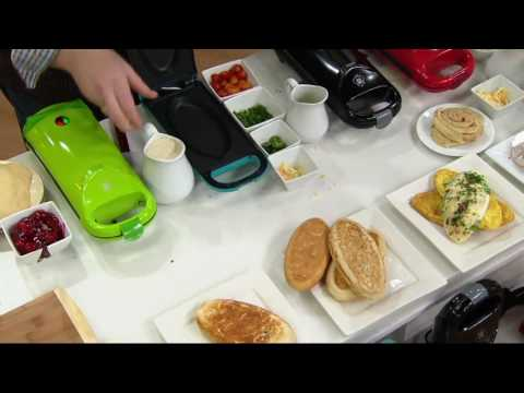 Yes Chef! Express Flip Food & Omelet Maker On QVC