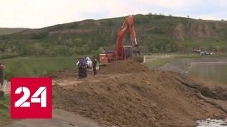 Паводок на Ставрополье  под угрозой 7 населенных пунктов