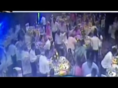 CCTV Video: Ceiling Falls Down in Hotel During Party in Jaipur