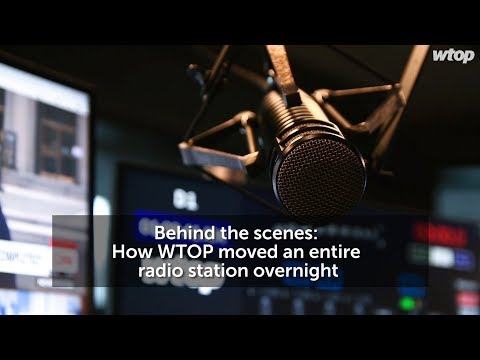 Behind the scenes: How WTOP moved an entire radio station overnight