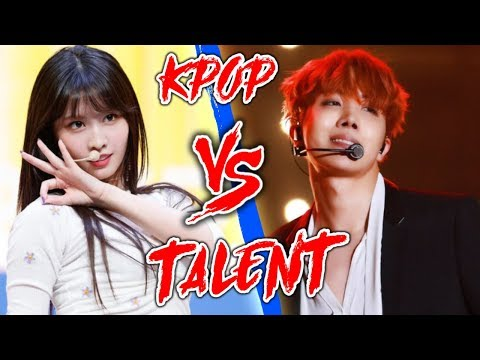 K-POP VS TALENT (BTS, BLACKPINK, TWICE, ITZY,  RED VELVET & MORE)