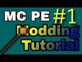 Download MCPE Mod programmieren  #1 Item und Block erstellen