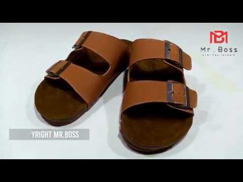 Sandal Selop Birkenstock 02 Tan