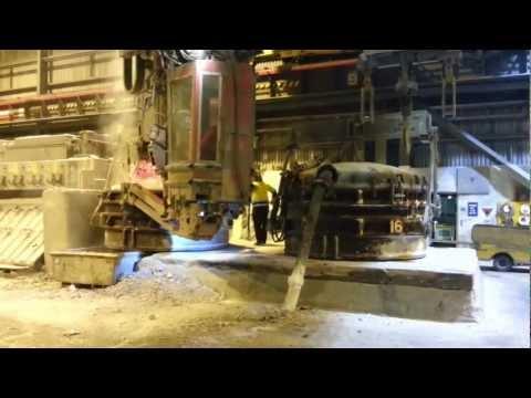 Hydro Aluminium - Kurri Kurri - Last Tap.avi