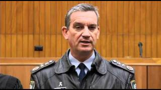 Operation Unite - NSW Police Commissioner launch pt 2
