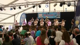 Blaskapelle MaChlast - Schlussrunde beim Zeltfest in Andau