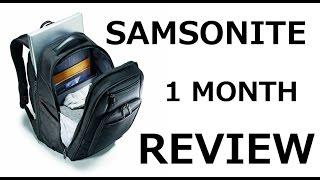 Why I choose Samsonite Xenon 2 backpack bag, not Tumi, Targus or Wenger