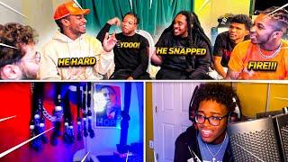 """DDG iCarly """"Freestyle"""" Battle FT. Adin, Poudii, Blou, Aqua Raps, & Gwallah"""