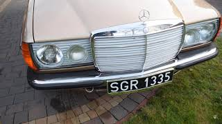 Mercedes W123 200D 1982
