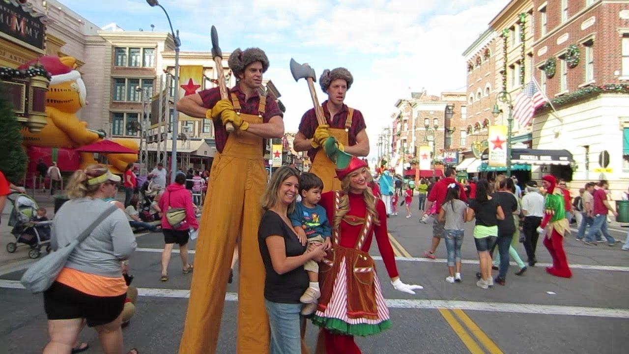 Universal Studios Orlando Macy's Christmas Parade 2012 - YouTube