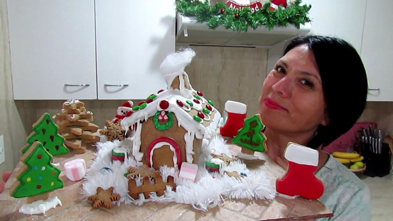 Casa de jengibre silvana cocina youtube for Casa de navidad cocina con sara