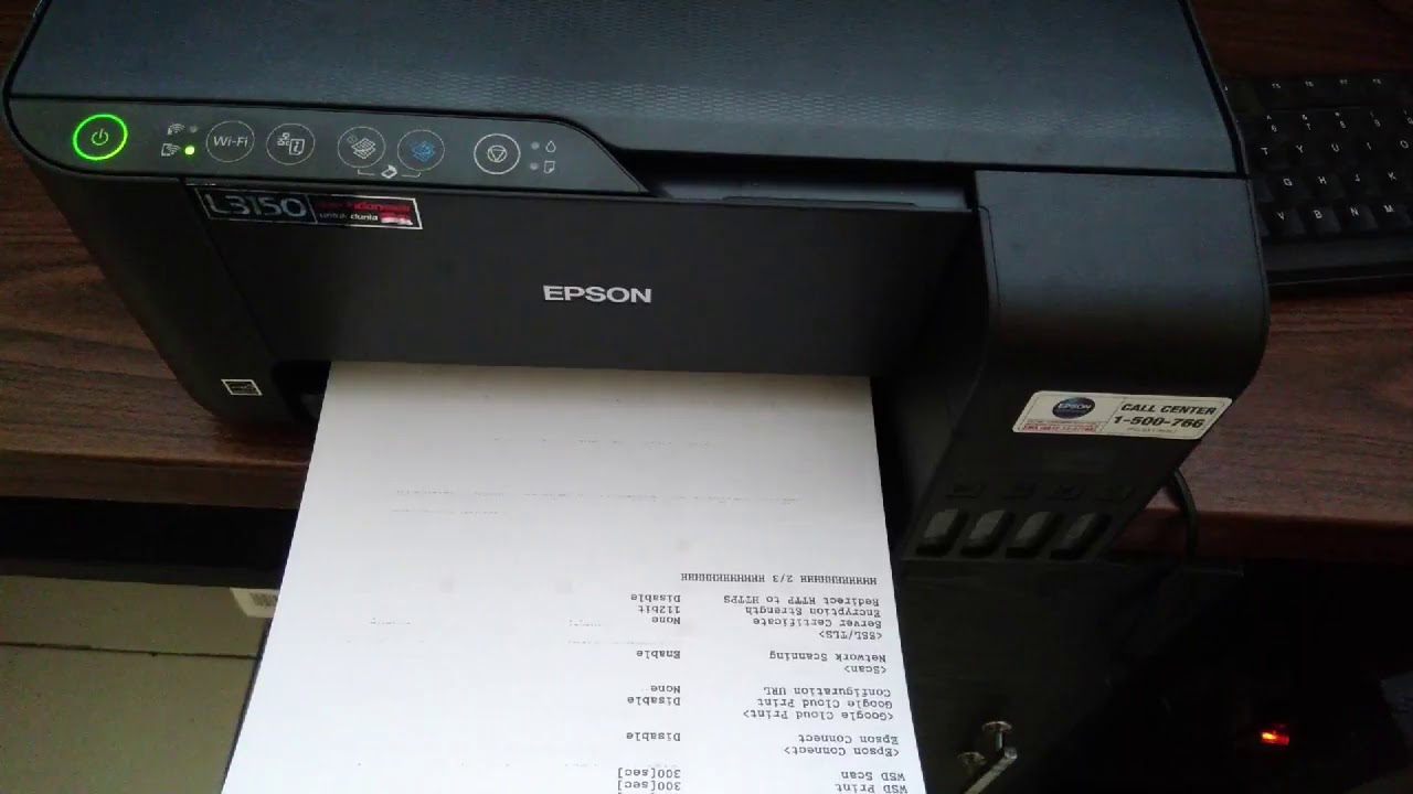 Setup Wifi Direct Epson L3150