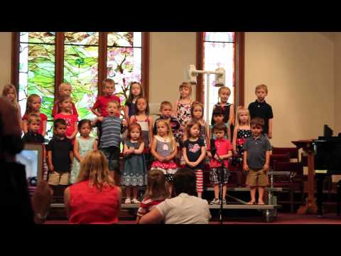 Silly Finale Song - Calvary Weekday School Spring 2013