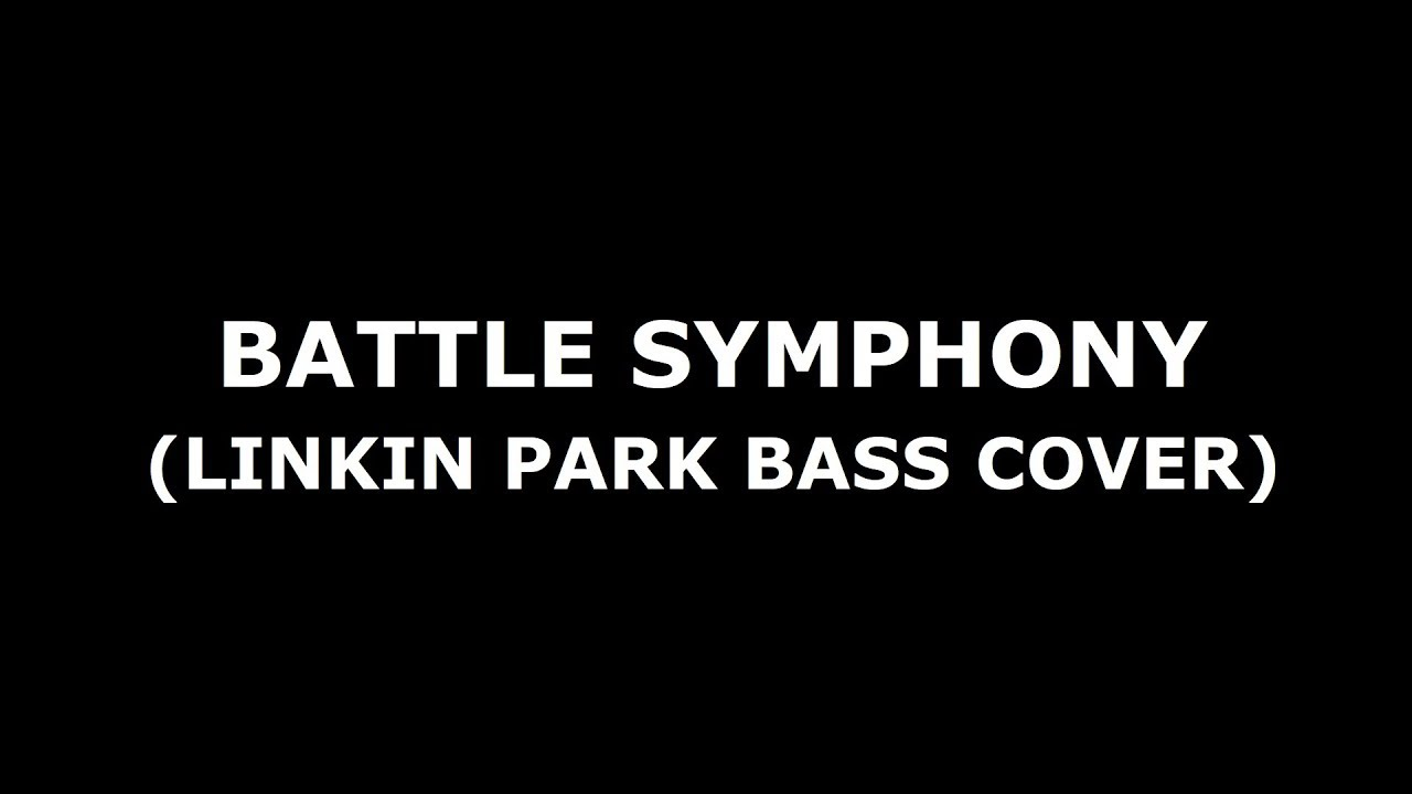 Battle Symphony (Linkin Park Bass Cover) Tabs/Notes in the Description  (Lesson/Tutorial)
