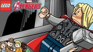 LEGO Marvel's Avengers #61 SHAKESPEARE NO PARQUE 100% MINIKITS PERSONAGENS STAN LEE E BLOCO VERMELHO