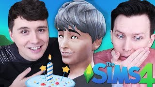 DIL BECOMES AN ELDER - Dan and Phil Play: Sims 4 #58