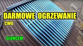 vlog#7-2019 - Zakładam kolektor słoneczny heat pipe