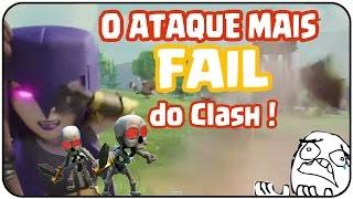 O ATAQUE MAIS FAIL DO CLASH OF CLANS ! - Como não atacar ? - Gustovow