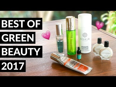 Green Beauty Favourites 2017