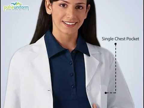 PulseUniform - CH-1462 Cherokee Women White Short Lab Coat