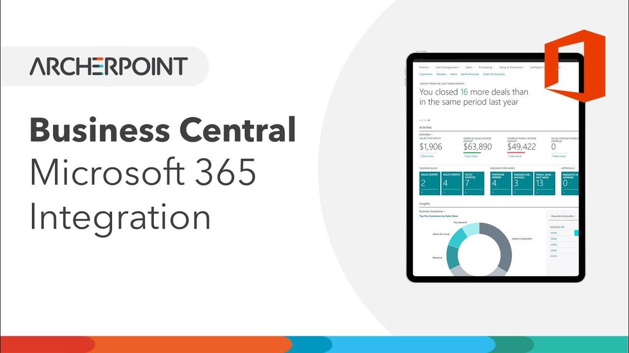 Microsoft Dynamics 365 Business Central   ArcherPoint, Inc