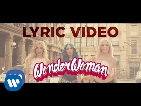 Sweet California - WonderWoman (Lyric Video)