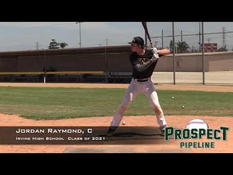 Jordan Raymond Prospect Video, C, Irvine High School Class of 2021