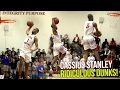 Cassius Stanley SELF-OOP & NASTY REVERSE IN GAME!! 16 Points in First Playoff Game FULL HIGHLIGHTS