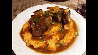 Braised Beef Short Ribs with Sherry & Shiitake Recipe - Episode #263