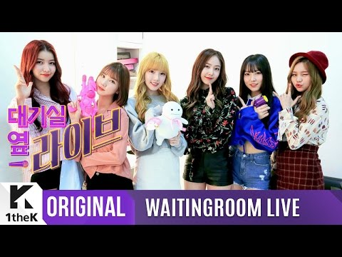 WAITINGROOM LIVE: GFRIEND(여자친구)_Live Version of GFRIEND's New Song, aimed at Your Heart!_FINGERTIP